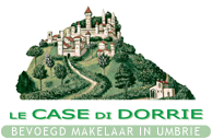 Le Case di Dorrie - Real estate agency in Umbria - Bevoegd makelaar in Umbrië - Agenzia Immobiliare